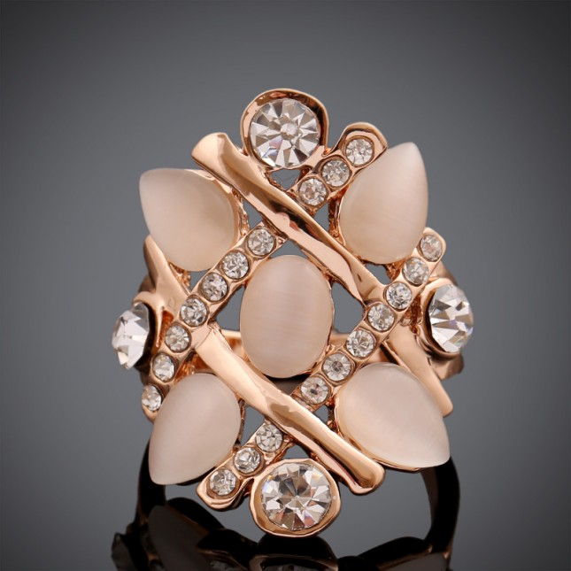 Five Stone Statement Ring