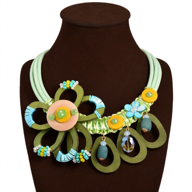 Colorful Gems Bauble Necklace