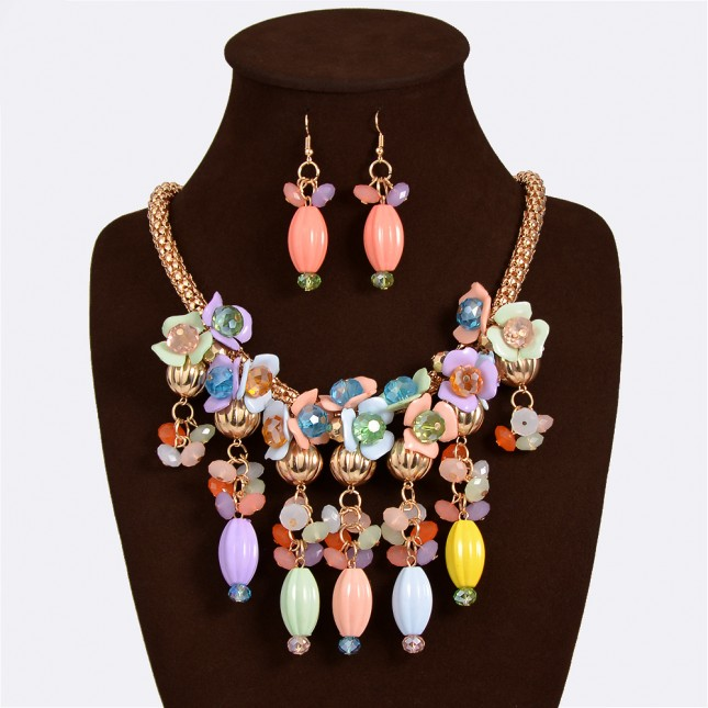 Beaded Costume Jewelry Sets