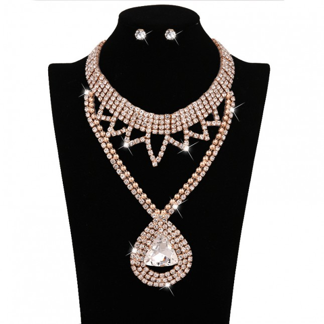 Long Chunky Costume Necklace Sets