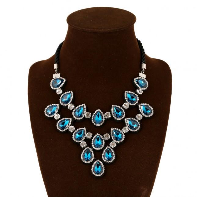 Gems Crystal Zircon Necklace