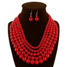 Beads Statement Necklace